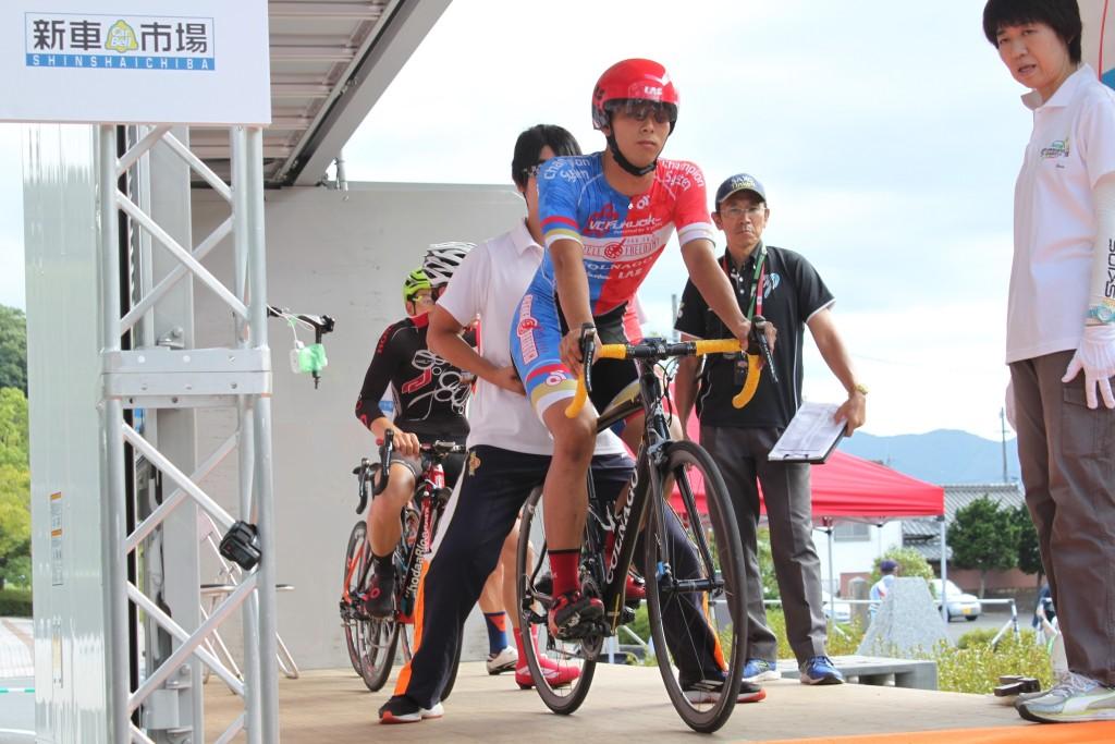 中田拓也 チームトップの17位