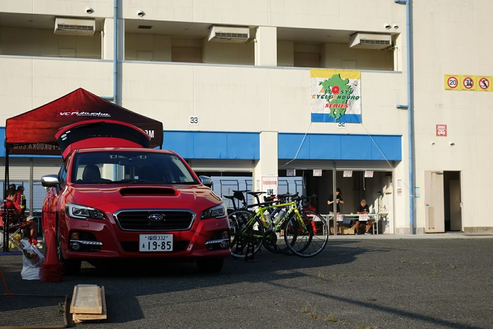 8/19 オートポリス3時間耐久レースに出場しました!(自転車教室実施)