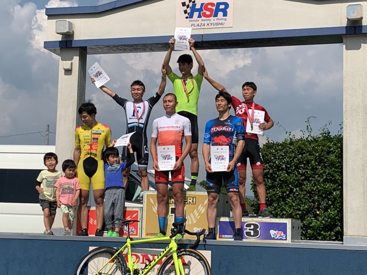 5/3 HSR九州サイクルロードレース(第1戦)にて、池田渓人3位!