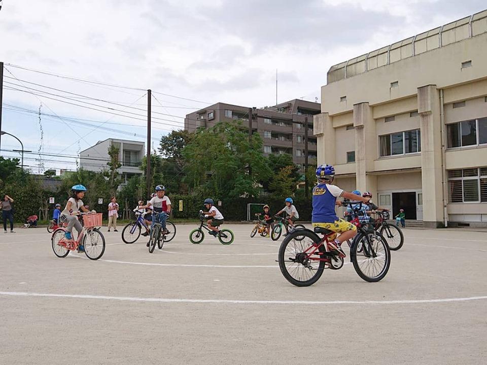 10/6 自転車運動会@南当仁小学校