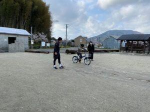 4/1 最後の自転車教室・・・