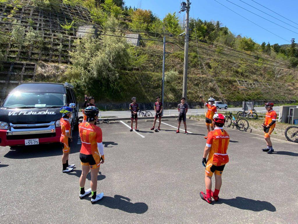 ユースチームのトレーニング風景