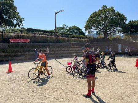 自転車の乗り方教室~補助輪なしにチャレンジ!を開催しました